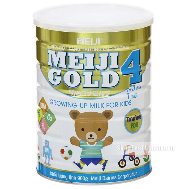 Sữa bột Meiji Gold 4 - hộp 900g (dành cho trẻ từ 3 tuổi trở lên) ...