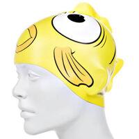 Nón bơi trẻ em Silicon Sea Squad Character (Vàng)
