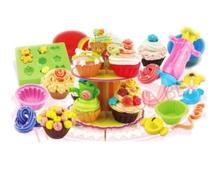 Đồ chơi đất nặn Doh Dough thế giới bánh cupcake 50164