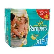 Tã giấy Pampers XL28 (dành cho trẻ trên 13kg)
