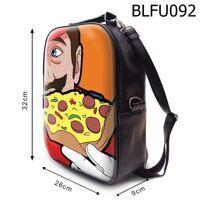 Balo Mario ăn pizza BLFU092 size nhỏ