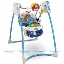 Xích đu và ghế nằm đa năng Fisher Price M3178 cho bé