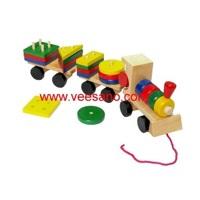 Tàu xếp khối màu sắc Veesano VM15