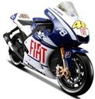 Mô hình MotoGP số 99 đội Fiat Yamaha 2010 Maisto 31186 tỉ lệ 1:10