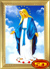 Tranh thêu chữ thập tôn giáo - DLH-YA906