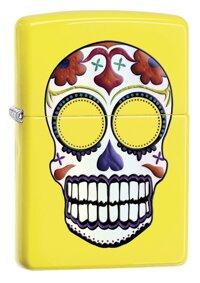 Bật lửa Zippo Skull Lighters Lemon 24894 độc đáo