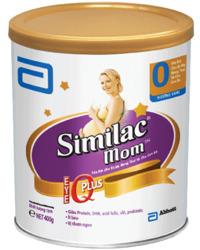 Sữa bột Abbott Similac Mom IQ - hộp 400g (dành cho mẹ mang thai và cho con bú)
