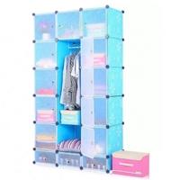 Tủ quần áo đa năng 18 ngăn Tupper Cabinet TC-18BL-W