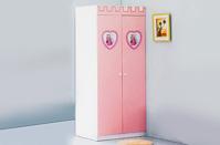 Tủ quần áo búp bê BABY love - W08