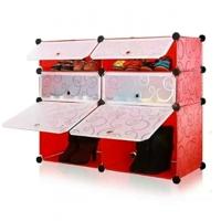 Tủ giày dép đa năng 6 ngăn Tupper Cabinet TC-6R-W3