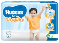 Tã-bỉm quần Huggies Dry Jumbo XXL28