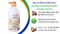 Sữa tắm gội 2 trong 1 trẻ em Aromakids 1000ml