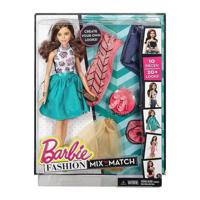 Búp bê Barbie - Bộ sưu tập thời trang sáng tạo váy xanh