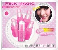 Son dưỡng làm hồng môi Mistine Pink Magic Crystal Lip