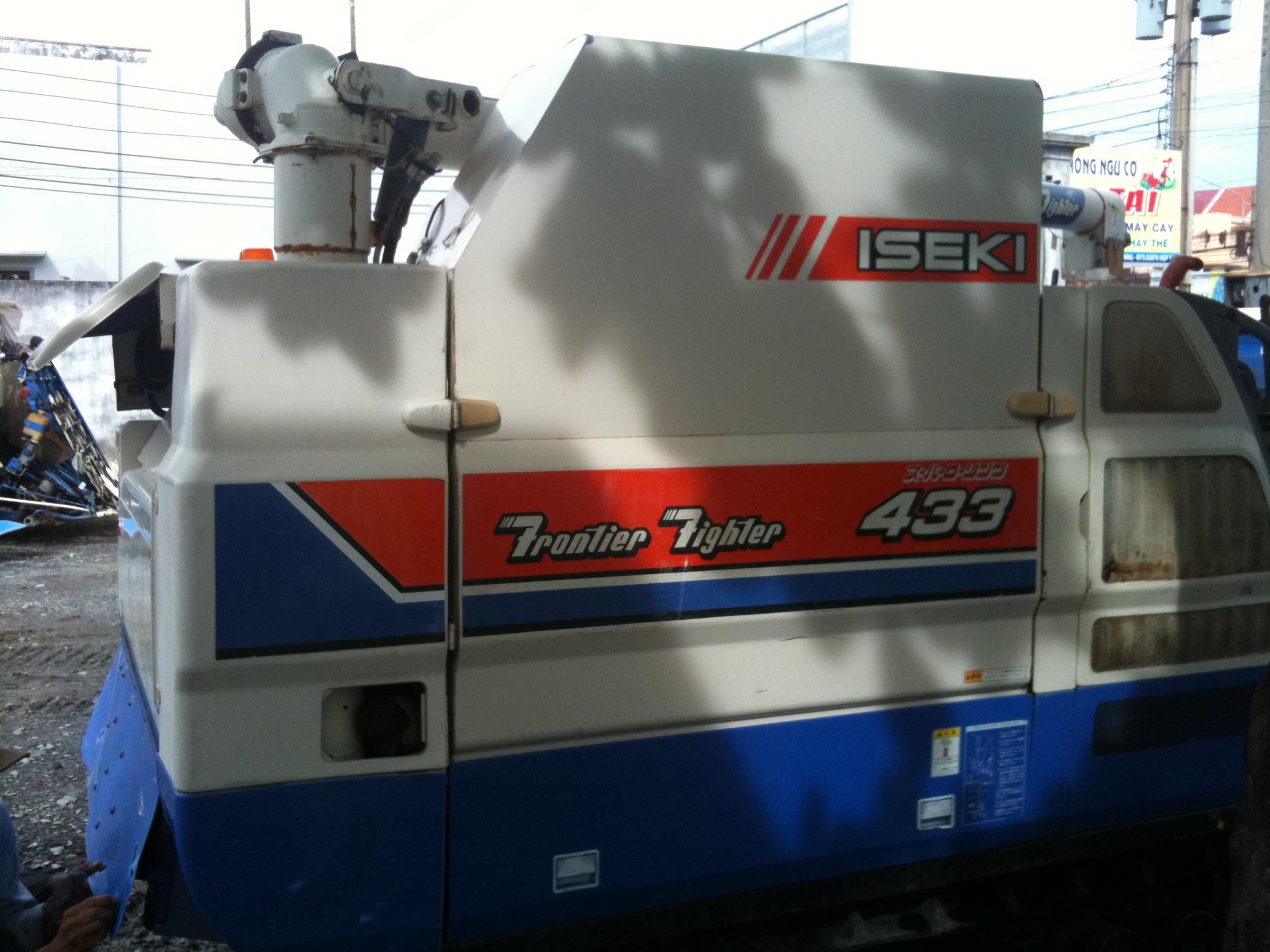 Máy gặt liên hợp ISEKI 433
