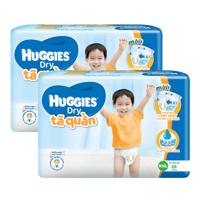 Combo 2 gói tã quần Huggies Dry XXL28