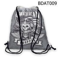 Túi rút Đầu lâu Classic American - BDAT009