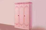 Tủ quần áo trẻ em BABY LOVE - D7107