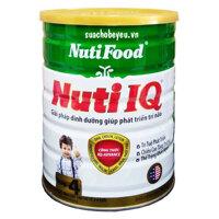 Sữa NutiFood Nuti IQ Step 4 - 900g (2 - 4 tuổi)