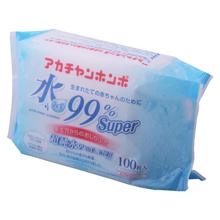 Khăn ướt baby 99% Akachan Nhật - 100pcs