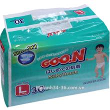 Tã giấy Goo.n L30 (dành cho trẻ từ 9-14kg)