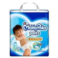 Tã - Bỉm quần cho bé trai Mamypoko L14 (14 Miếng)