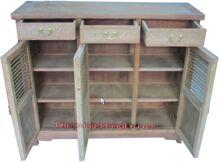Tủ giầy dép gỗ 2 cánh D47