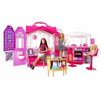 Bộ búp bê Barbie và phòng ngủ di động CFB65