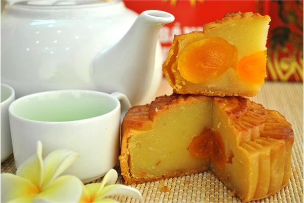 Bánh nướng Như Lan đậu xanh sen sầu riêng 3 trứng 400g