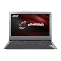 Laptop gaming Asus ROG G752VM-GC066T - Intel Skylake i7-6700HQ, RAM 32GB, SSD 256GB + HDD 1TB, Intel VGA NVIDIA GeForce, 17.3 inch