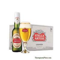 Bia Stella Artois - Thùng 24 chai 330ml