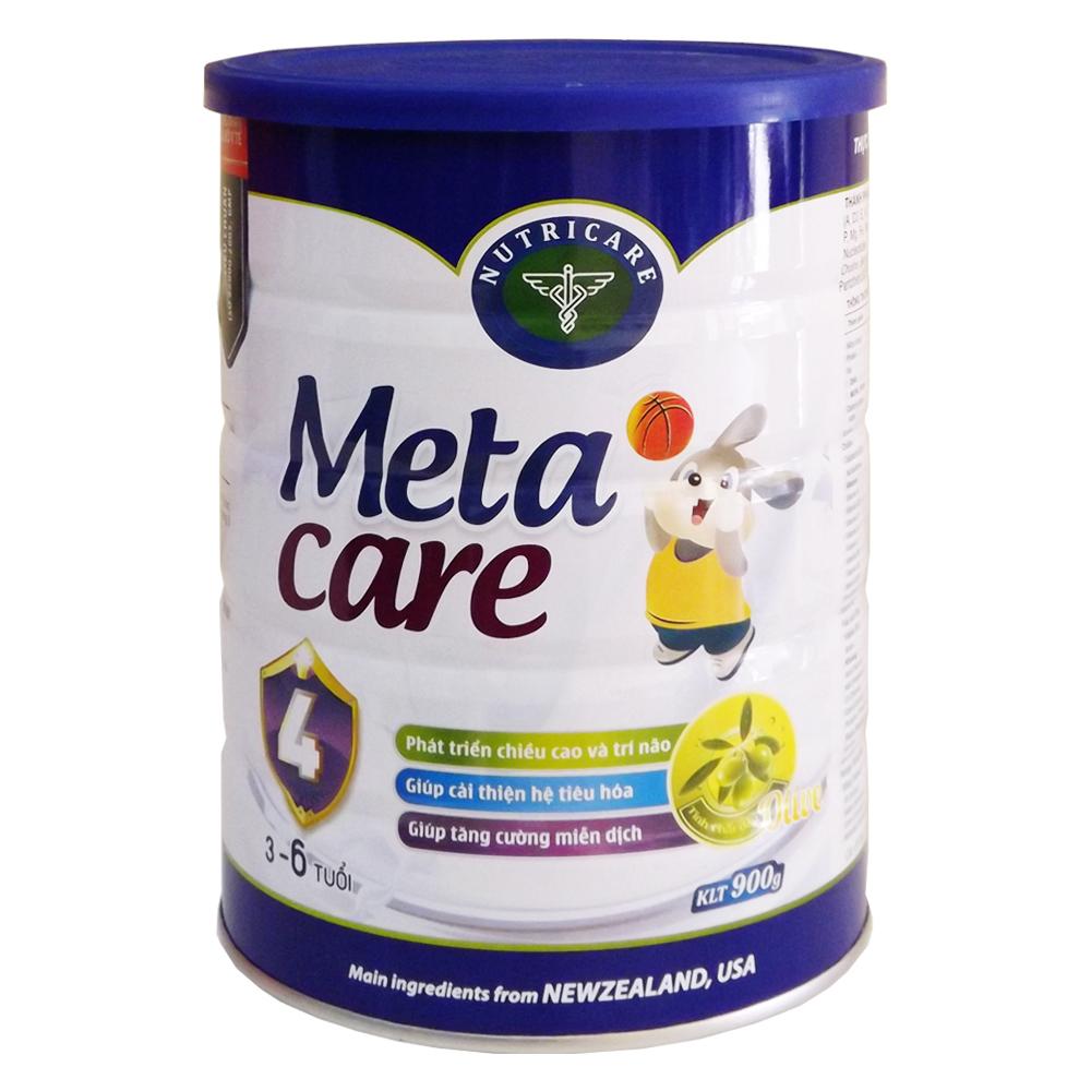 Sữa Nutri Care Meta Care 4 - 900g (3-6 tuổi)