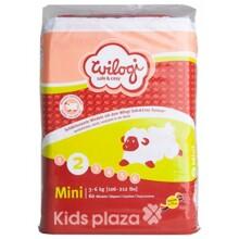 Bỉm Wilogi Mini số 2 - 60 miếng (dành cho trẻ từ 3-6kg)
