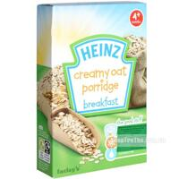 Bột ăn dặm Heinz Cháo kem yến mạch 4m+