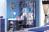 Bàn học xanh dương Baby love M817B