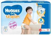 Tã-bỉm quần Huggies Dry Pants Big Jumbo L54