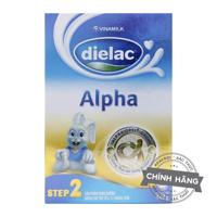 Sữa bột Dielac Alpha Step 2 - hộp 400g (hộp giấy dành cho trẻ từ 6 - 12 tháng)