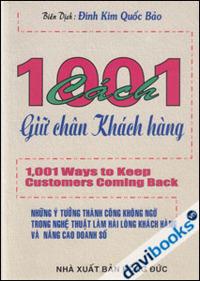 1001 Cách Giữ Chân Khách Hàng