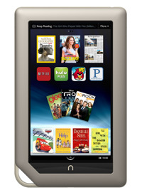 Máy tính bảng Nook Tablet -  8GB, 7.0 inch