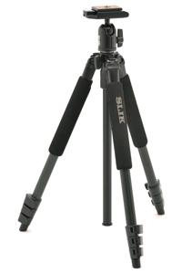Chân máy ảnh Tripod Slik Sprint 150 – 1634mm/  Ball head SBH 150 DQ BK