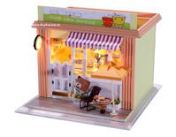 Mô hình quán trà sữa Hồng Kông Tiny House C005