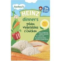 Bột ăn dặm Heinz 7+ vị gà và rau củ