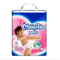 Tã quần MamyPoko Boys size XL 12 miếng (trẻ từ 12 - 17kg)