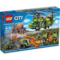 Đồ chơi xếp hình Lego City 60125 - Trực Thăng Vận Chuyển Hạng Nặng