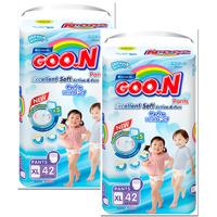 Combo 2 gói Tã quần Goon XL42(mới)