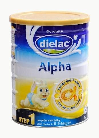 Dielac alpha step 1 – Nguồn dinh dưỡng cho bé sơ sinh khi sữa mẹ không đủ