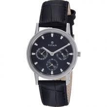 Đồng hồ nam dây da Titan 2557SL03