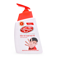 Nước rửa tay Lifebuoy bảo vệ vượt trội dạng chai 500g