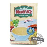 Bột ăn dặm trái cây sữa Nuti IQ NutiFood 200g