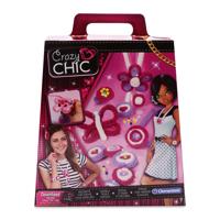 Bộ đồ chơi thiết kế trang sức Crazy Chic Knits Your Jewels Clementoni trên 7 tuổi